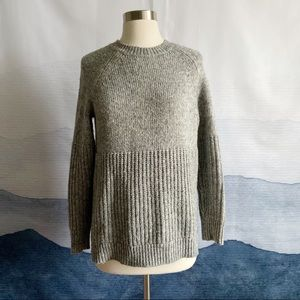 Banana Republic Gray Merino Wool Sweater